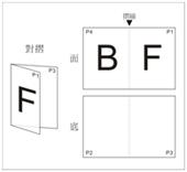 Half Fold F1-A3