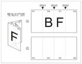 Double Gate Fold F4-A3