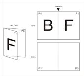 Half Fold F1-A1
