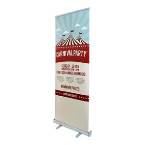 80 x 200 cm Roll-up Stand