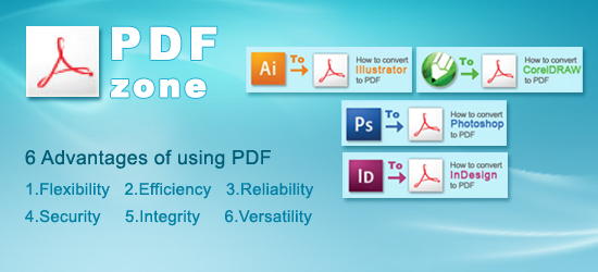 Advantages of using pdf file format