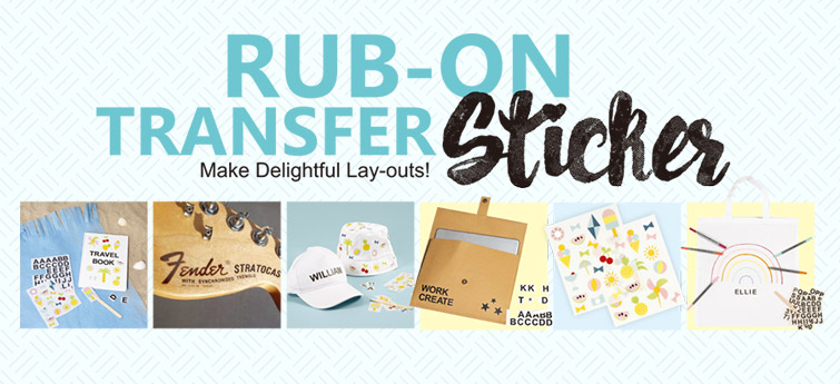 Rub On Transfer Sticker