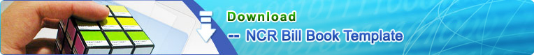 NCR Bill Book Template