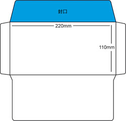 dl window envelope template pdf
