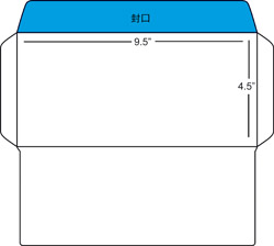 Download envelope template e print solutions sdn bhd for Standard window envelope template