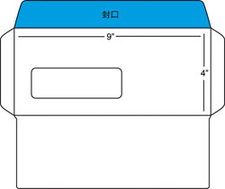 Download envelope template e print solutions sdn bhd 9 x4 with window fbccfo Image collections